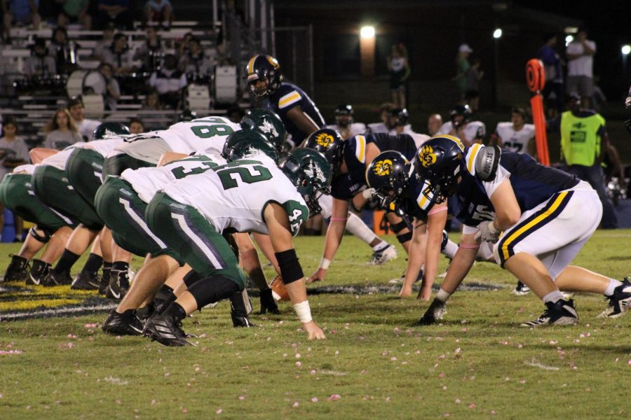 The Bruin Football team faced the Pisgah Dragons at home last Thursday.