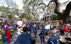 St. Joe Band marches in Krewe of Thoth Mardi Gras Parade