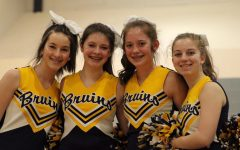 Middle school students have fun at pep rally