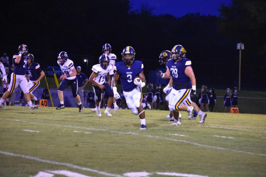 The Bruins beat the Saints 26-7 last Friday.