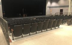 Inside the Fine Arts Building on campus, all St. Joe theater productions are held in the auditorium.
