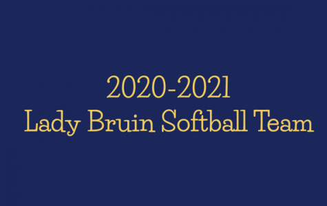 2020-2021 Lady Bruins Softball roster released