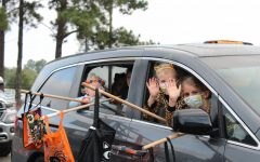 Kids from the St. Joe community participate in the 3rd annual Trunk-or-Treat.