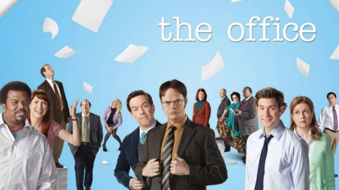 """The Office"" is a workplace comedy that follows the lives of the employees of a paper company."