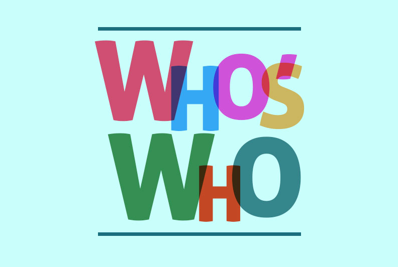 Who's Who results for 2021 announced